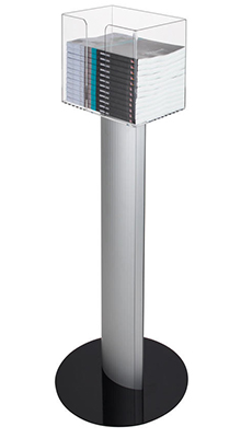 Floor Standing Brochure Holders - A4 Catalogue Dispenser - Floorstanding