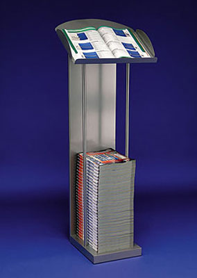 Magazine/Catalogue Holders - A4 Catalogue Stand - Floorstanding