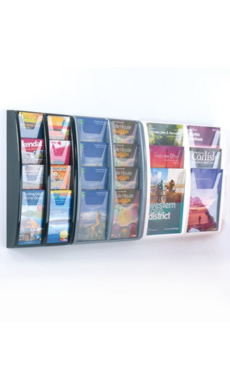 Magazine/Catalogue Holders -  A4,A5,1/3 A4 Brochure Stand - Wall Mounted