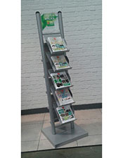 5/10 Pocket A4 Brochure Stand - Floorstanding