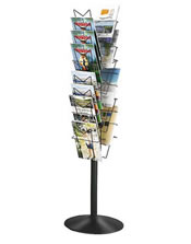 20 Pocket A4 Leaflet Column - Floorstanding