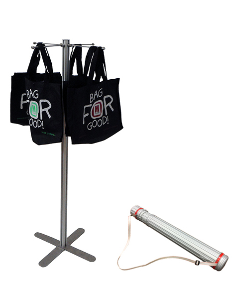 Brochure holder: 8 x A4 Brochure stand - Floorstanding