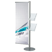 A4/A5/DL Leaflet Stand with Banner