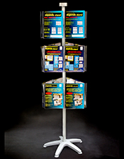 A4 Pocket Carousel -  3 Tier