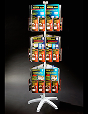A4/A5/ DL Pocket Carousel - 3 Tier