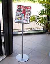 A4 Leaflet Display - Floorstanding