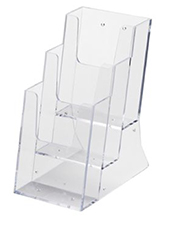 Acrylic Leaflet Dispenser - Tiered