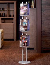 A4/A5/DL Brochure Column - Floorstanding