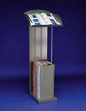 A4 Catalogue Stand - Floorstanding
