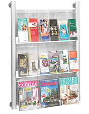 A4 & DL Pocket Brochure Holder - Wall Mounted