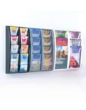 A4,A5,1/3 A4 Brochure Stand - Wall Mounted