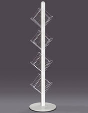 4 / 8 A4 Pocket Leaflet Column - Floorstanding