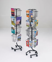 Revolving Brochure Stands - A4 & DL Carousel